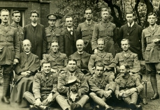 Photograph of Servicemen Weekend Retreat, Campion Hall, Oxford, 1918