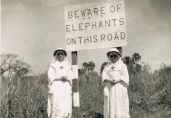 Sisters on mission in Malawi, 1940s (Ref: 4616)
