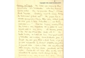First page of a seventy-eight page diary written by a Jesuit, John Delaney (1883-1954), which refers to the 1916 Rising. The diary starts on Sunday, 23rd April 1916 (incorrectly written as 24th April by Delaney) and ends on 30th April. Delaney walked the streets of Dublin during Easter week 1916 recording in his diary everything he encountered along the way. The following year, Fr Delaney was sent to France as an army chaplain. IE_IJA_J29_3_5