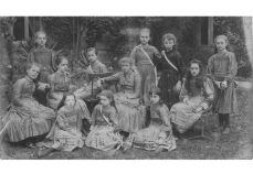 Society of Sacred Heart School students, 1859